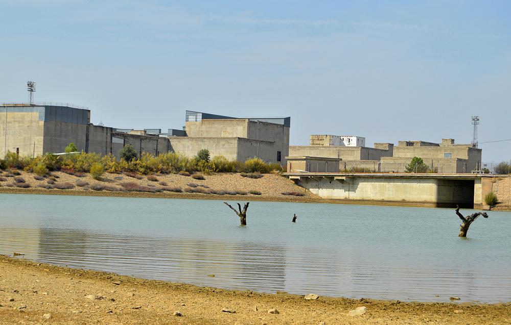 Central nuclear abandonada de Valdecaballeros