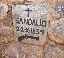 El bandolero Sandalio Estudillo