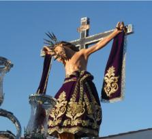 El rayo y el Santísimo Cristo de la Sangre