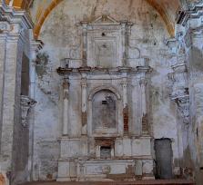 Iglesia y colegio jesuita abandonado de San Ildefonso