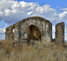 La ermita abandonada de San Bartolomé