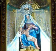 La protectora Virgen de las Angustias