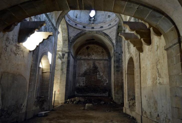 El convento abandonado de San Joaquín